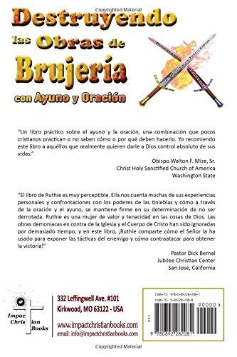 Destruyendo las Obras de la Brujería con Ayuno y Oración (Spanish Edition): Ruth Brown: 9780892282081: Amazon.com: Books