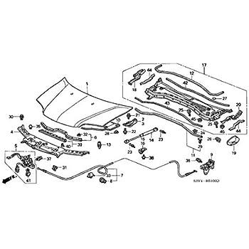 Amazon Com Genuine Acura 74145 S0k A02 Hood Opener Stay Automotive