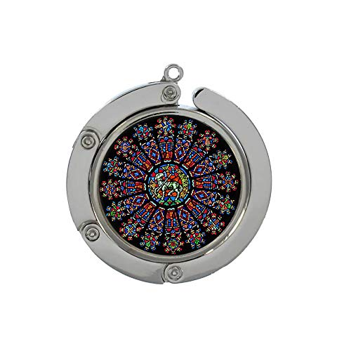 Rose Window Jewelry, Pendant Hook, Dome Glass Jewelry, Pure Hand-Made