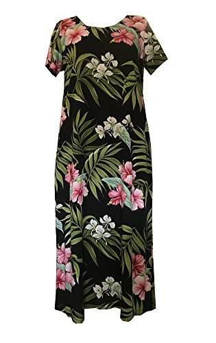 RJC Pale Hibiscus Orchid Womens Evening Dress BEIGE 1X Plus