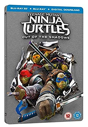 Teenage Mutant Ninja Turtles 2 Out Of The Shadows 3D + ...