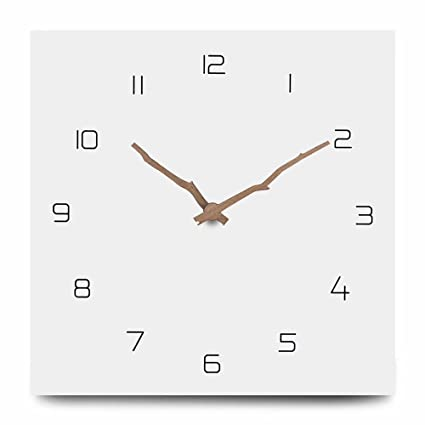 Reloj de pared industrial hecho a mano 3d de madera Gear reloj grande rústico decorativo reloj