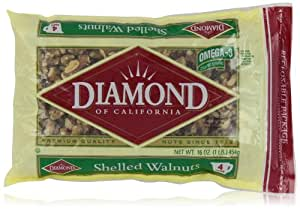 Diamond Shelled Walnuts, 16 oz