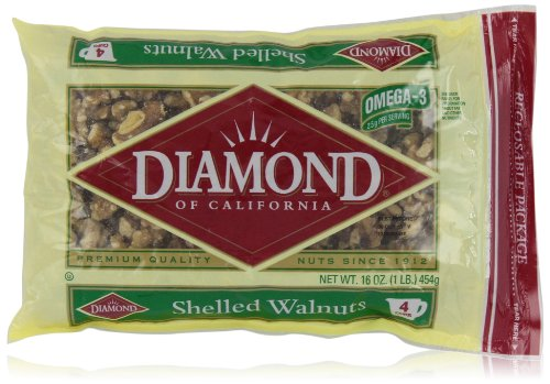 Diamond Walnuts, Shelled, 16 Ounce