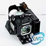 AWO VT85LP Premium Replacement Bulb/Lamp with Housing for NEC VT480 VT490 VT491 VT495 VT580 VT590 VT595 VT695 Projectors