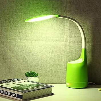Flikool Humidificador Escritorio Lampara 2 en 1 LED Luz de la ...