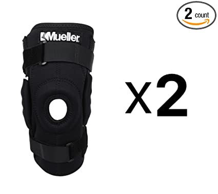 863f7871e1 Image Unavailable. Image not available for. Color: Mueller Sports Medicine Hinged  Wraparound Knee Brace ...