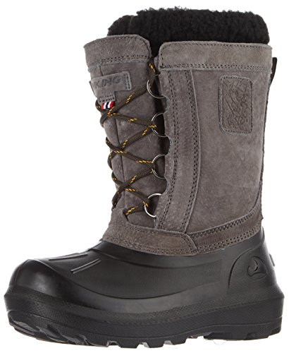 Viking Unisex Adults' Svartisen Snow Boots, Mustard/Black, 6 Grau (Charcoal/Black)