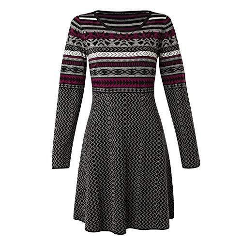 Krimson Klover Women's Sundial Swing Sweater - Fair Dress Isle Sweater