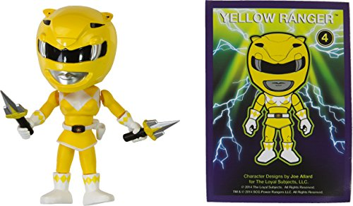 "Yellow Ranger: ~3.3"" The Loyal Subjects Action Vinyls, used for sale  Delivered anywhere in USA"