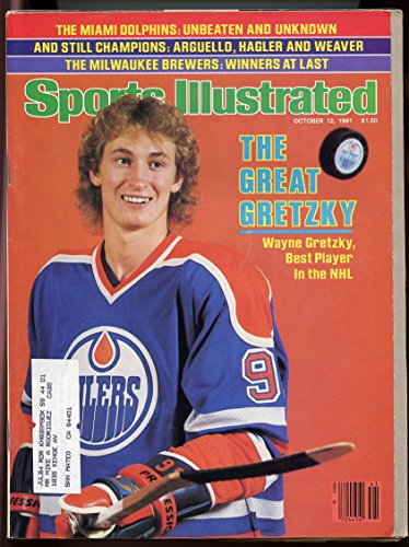 (SI: Sports Illustrated October 12, 1981 Best Player in NHL Wayne Gretzky Cover GOOD)