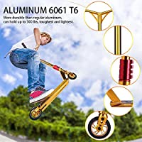 OUTON Pro Aluminum Performance Freestyle Stunt Scooter 110mm Aluminum Core Wheels SCS Compression ABEC 9 Kick Scooter from OUTON