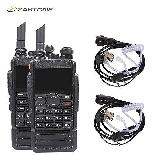Zastone M7 VHF Radio 8W 250-Channel VHF/UHF 136-174/400-480 MHz Dual Band Two Way Radio Walkie Talkies 2 ()