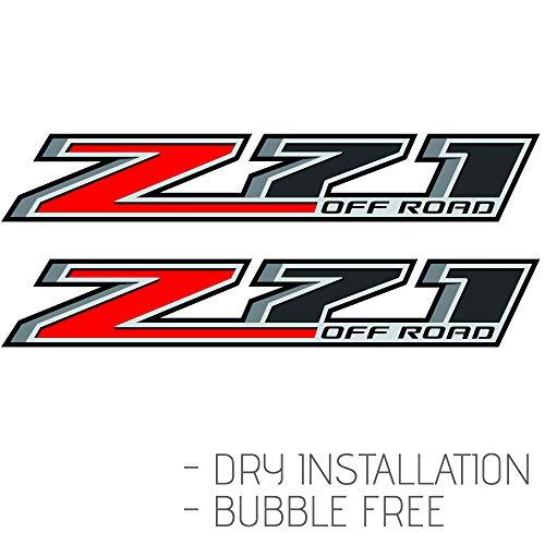 GOLD HOOK 2 - Z71 Off Road Decal | Replacement Sticker | Chevy Silverado | GMC Sierra | Truck 4x4