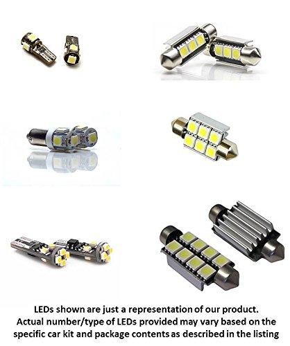 BLAST LED 18pc BMW 3 Series E93 Convertible 328i 335i M3 LED Lights Interior Package Kit - ERROR FREE