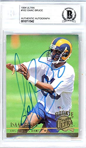 hed 1994 Fleer Ultra Rookie Card Autographed #162 Los Angeles Rams - Beckett Authentic ()