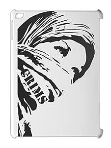 Hijab Girl Crims iPad air plastic case