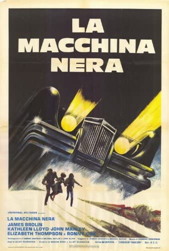 The Car 1977 Movie Poster