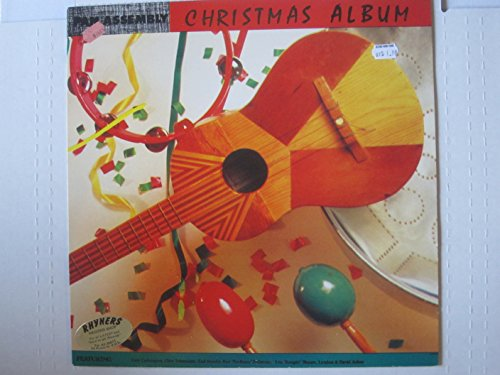 Pan Assembly Christmas Album. 1986 vinyl Trinidad steel drum LP