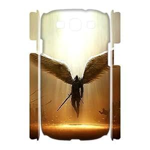 J-LV-F Fantasy Angel Customized Hard 3D Case For Samsung Galaxy S3 I9300