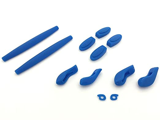 a82dfcdf09f LINEGEAR Complete Replacement Rubber Set for Oakley X-Squared- many colors  available (Blue