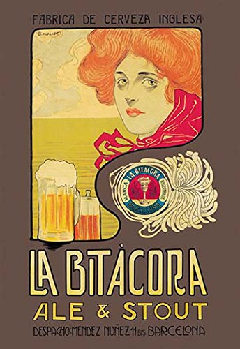 Buyenlarge 0-587-01885-2-C2030 La Bitacora Ale and Stout Gallery Wrapped Canvas Print, 20