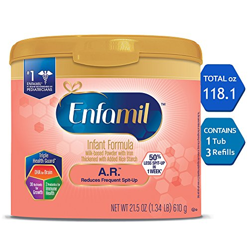Image of the Enfamil A.R. Infant Formula for Spit Up, Powder, 118.1 Ounce