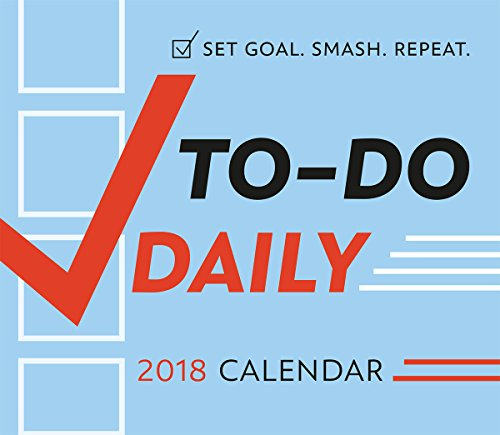 To Do Daily 2018 Boxed/Daily Calendar (CB0243) (Daily Positive Calendar 2018)