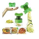Slicer for Spiral Vegetable Fruit, Fheaven Cutter Grater Twister Peeler Kitchen Gadgets Tools