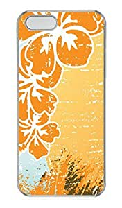 Tropical Souvenir PC Case Cover for iPhone 5 and iPhone 5S Transparent