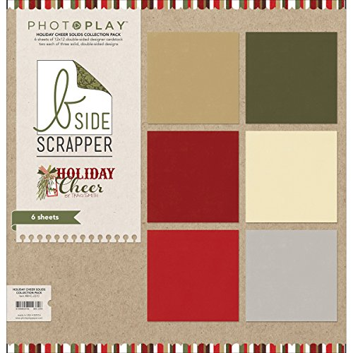 HOLIDAY CHR COL PACK-12X12SOLI
