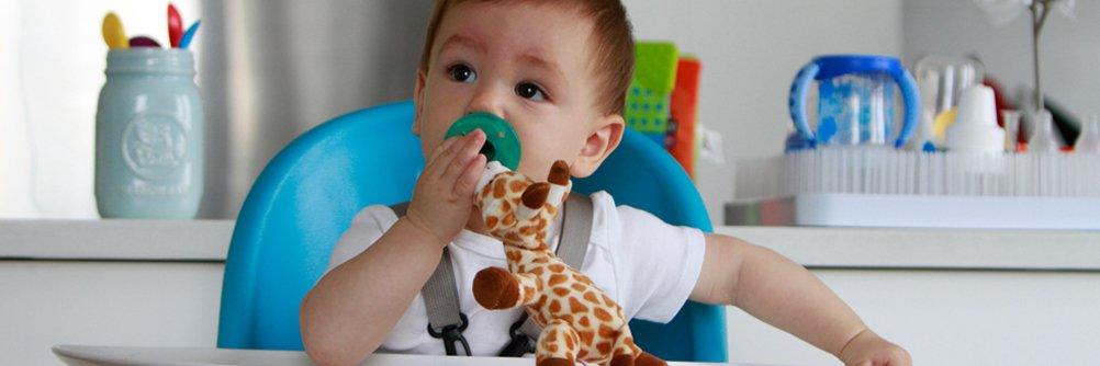 WubbaNub Infant Pacifier - Giraffe by WubbaNub (Image #5)