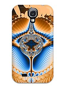 For Galaxy S4 Protector Case Fractal Phone Cover