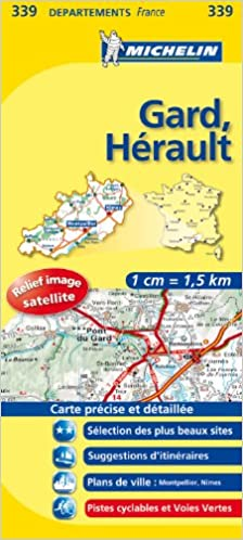 Gard Herault Road Map 339 1150 000 France Series 339