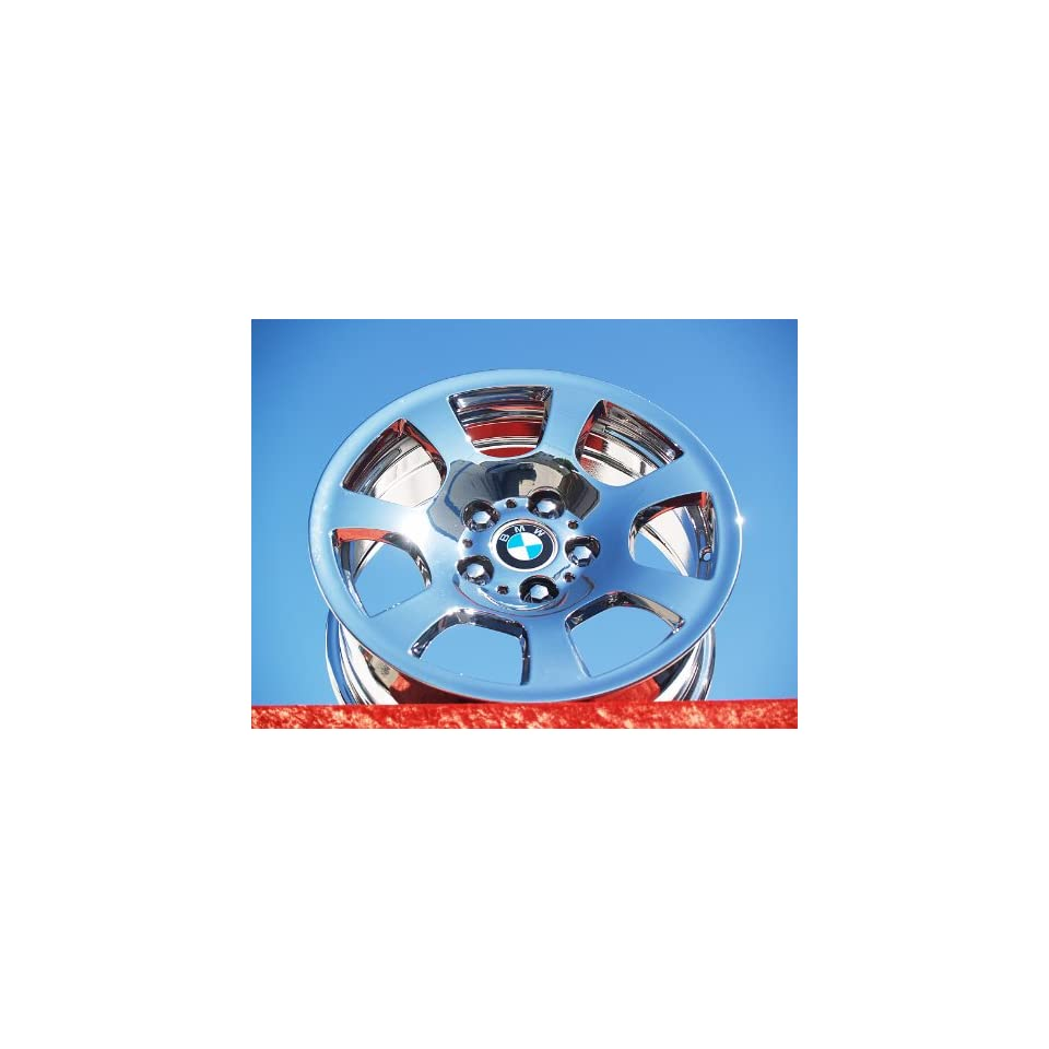 BMW 525iStyle 134 Set of 4 genuine factory 16inch chrome wheels