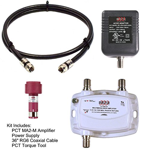 AMPLIFIER, CATV & OTA SUBSCRIBER PREMISE SINGLE (1) OUTPUT 15dB GAIN 5-1002Mhz w/ 36