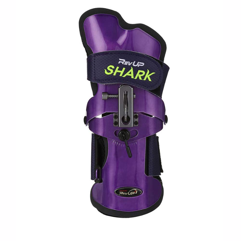 Rev-Up Shark Mongoose Bowling Wrist Support Accessories for Right Hand Purple Color (S) by [Rev-UpOEM] (Image #5)