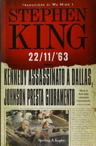 22/11/'63 by Stephen King (2011-10-07)