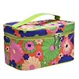 Clearance! Bookear Women's Multifunction Cosmetic Bag Portable Hanging Travel Toiletry Bag Waterproof Makeup Organizer (Green)