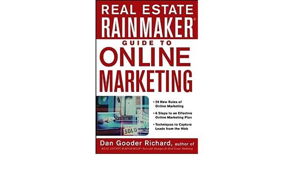 Real Estate Rainmaker Guide to Online Marketing: Amazon.es: Dan Gooder Richard: Libros en idiomas extranjeros