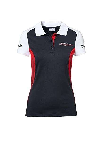 Porsche Damen Motorsport Polo-Shirt Gr. S - WAP80200S0J: Amazon.es ...