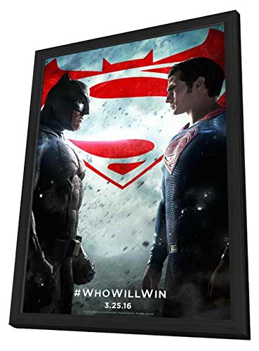 Batman v Superman: Dawn of Justice - 27x40 Framed Movie Post