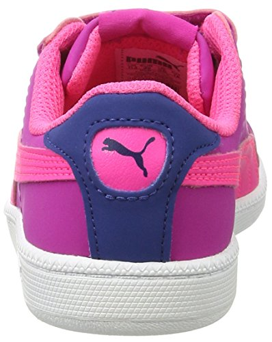 Puma Smash Fun Buck V Ps, Zapatillas Unisex Niños Rosa (Ultra Magenta-knockout Pink 09)