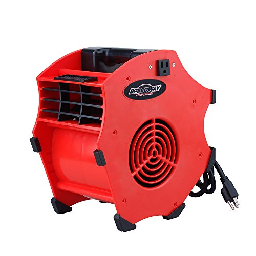 Speedway 33010resistente portátil Industrial ventilador soplador (con 3velocidad), 1paquete