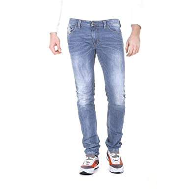 c2a366e8 Image Unavailable. Image not available for. Color: Diesel Mens Thavar  00CKS0 Jeans Slim Skinny ...