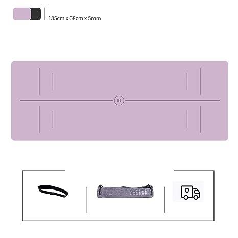 Amazon.com : Folding Gymnastics Exercise Mat Yoga Design Lab ...