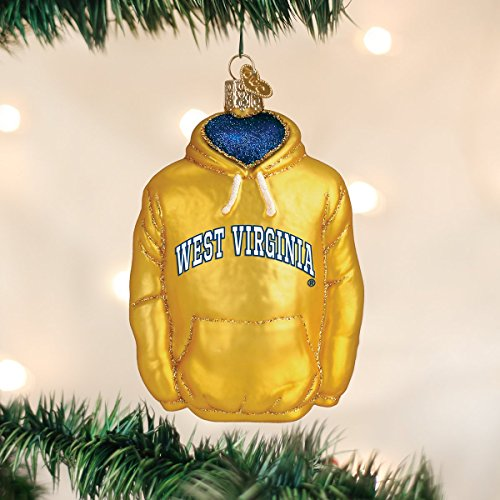 Amazon.com: Old World Christmas Ornaments: West Virginia Hoodie Glass Blown  Ornaments for Christmas Tree: Home & Kitchen - Amazon.com: Old World Christmas Ornaments: West Virginia Hoodie
