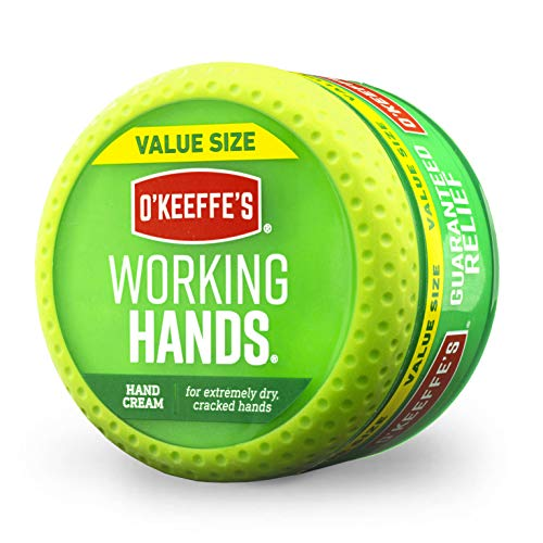 O'Keeffe's Working Hands Hand Cream Value Size, 6.8 oz., Jar (The Best Hand Cream For Dry Hands)