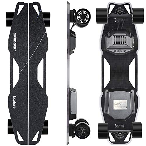 Spadger Electric Skateboard D5X Plus 37'' Boosted Longboard