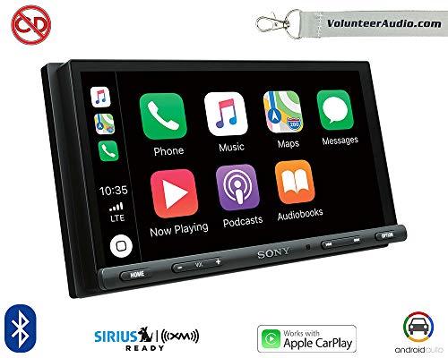 """Sony XAV-AX5000 Car Stereo Double Din Radio with Apple Carplay, Android Auto, Bluetooth, 7"""" Screen from Sony"""